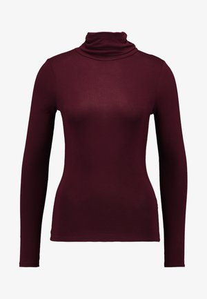 ROLL NECK - Longsleeve - burgundy