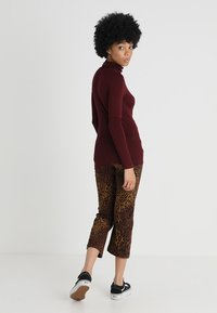 New Look - ROLL NECK - Long sleeved top - burgundy - 2