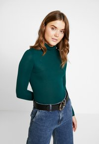 New Look - ROLL NECK - Camiseta de manga larga - dark green - 0
