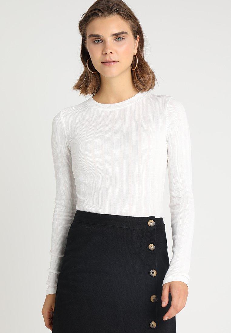 New Look - VERONICA CREW  - Langarmshirt - cream