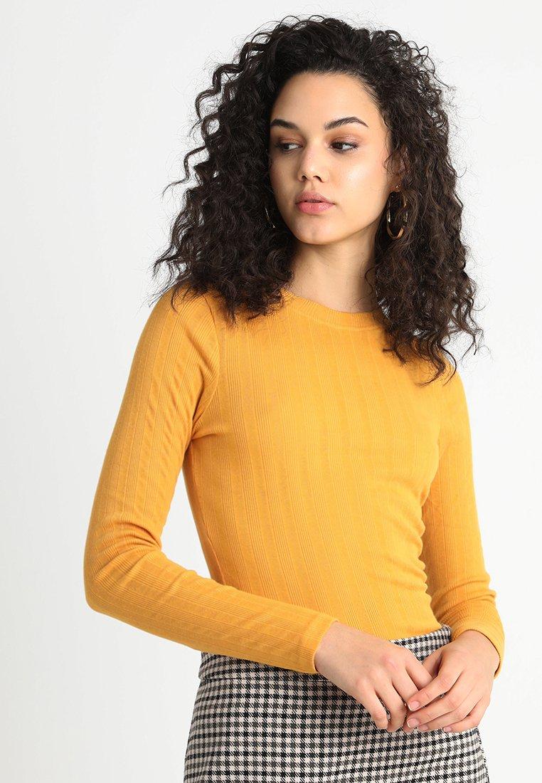 New Look - VERONICA CREW  - Long sleeved top - dark yellow