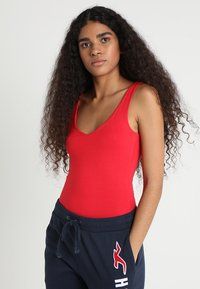 New Look - VEST - Top - bright red - 0
