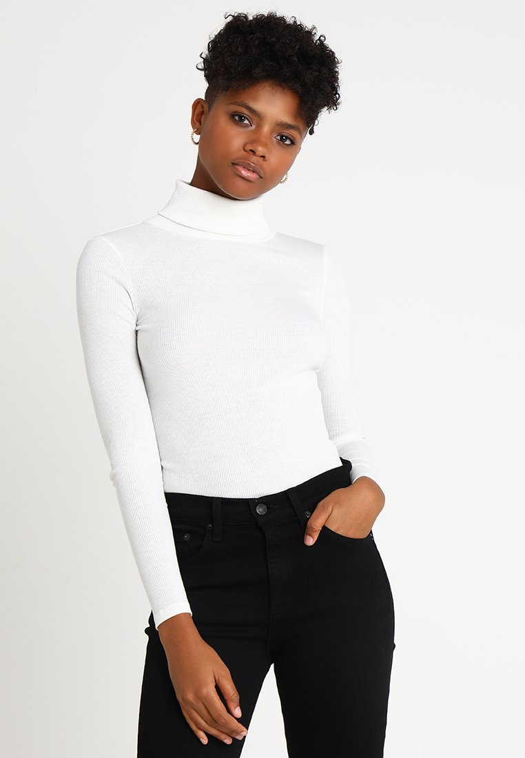 New Look - ROLL NECK - Longsleeve - off white