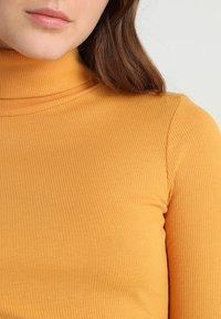 New Look - ROLL NECK - Bluzka z długim rękawem - dark yellow - 4