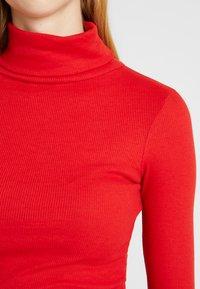 New Look - ROLL NECK - Bluzka z długim rękawem - red - 4