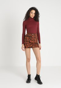 New Look - ROLL NECK - Top s dlouhým rukávem - red - 1