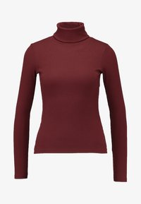New Look - ROLL NECK - Long sleeved top - red - 3