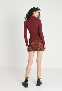 New Look - ROLL NECK - Top s dlouhým rukávem - red - 2