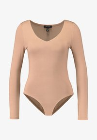 New Look - BODY - Maglietta a manica lunga - camel - 3