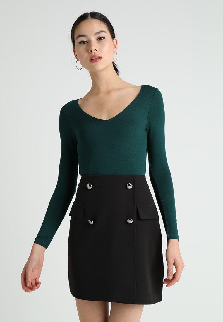 New Look - BODY - Pitkähihainen paita - dark green