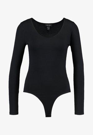 BODY - T-shirt à manches longues - black