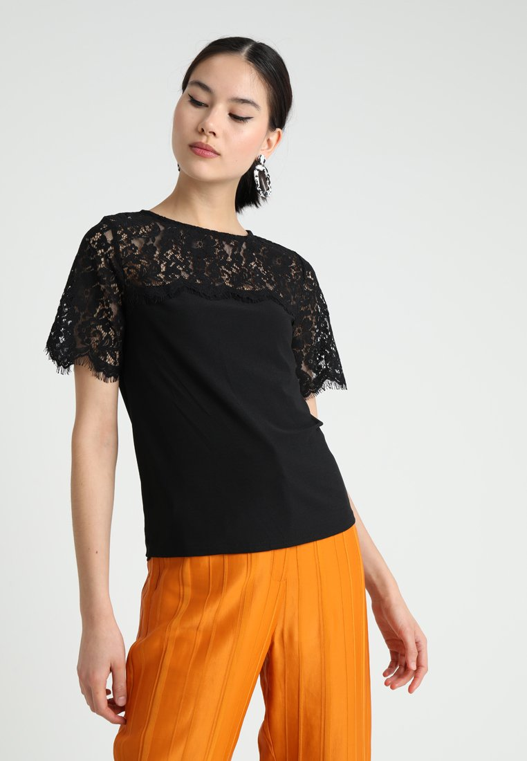 New Look - YOKE TEE - T-Shirt print - black