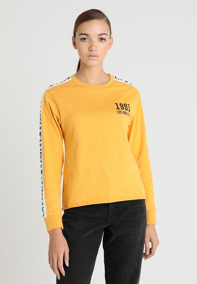 TAPE - Longsleeve - dark yellow