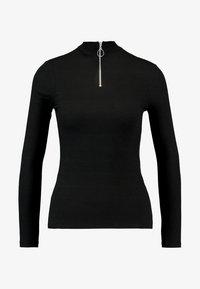 New Look - ZIP - Langærmede T-shirts - black - 4