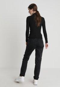 New Look - ZIP - Langærmede T-shirts - black - 2