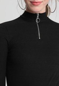 New Look - ZIP - Langærmede T-shirts - black - 5