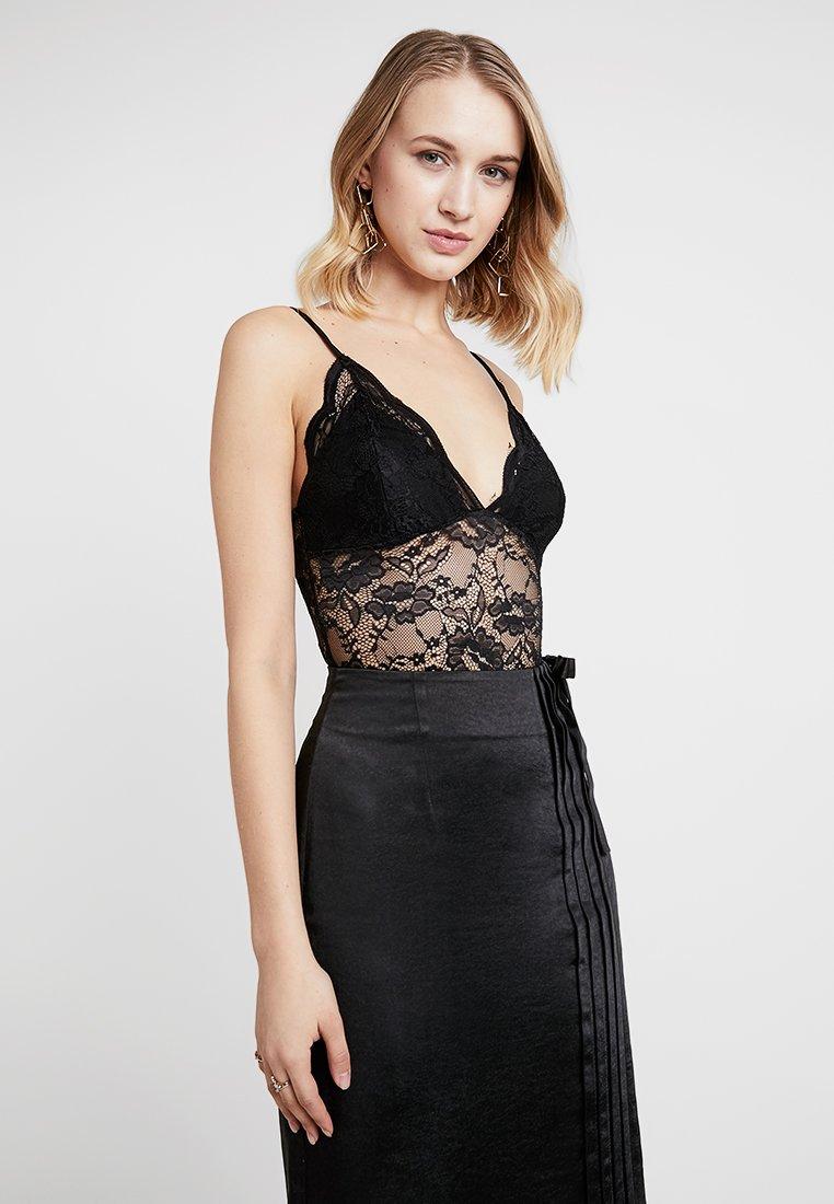 New Look - GO SCALLOP BODY - Top - black