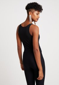 New Look - SCALLOP BODY - Linne - black - 2