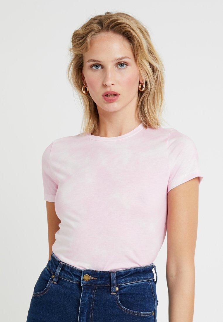 New Look - TIE DYE TEE - Print T-shirt - pink