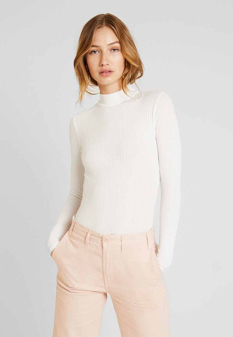 New Look - TURTLE NECK BODY - Topper langermet - off-white