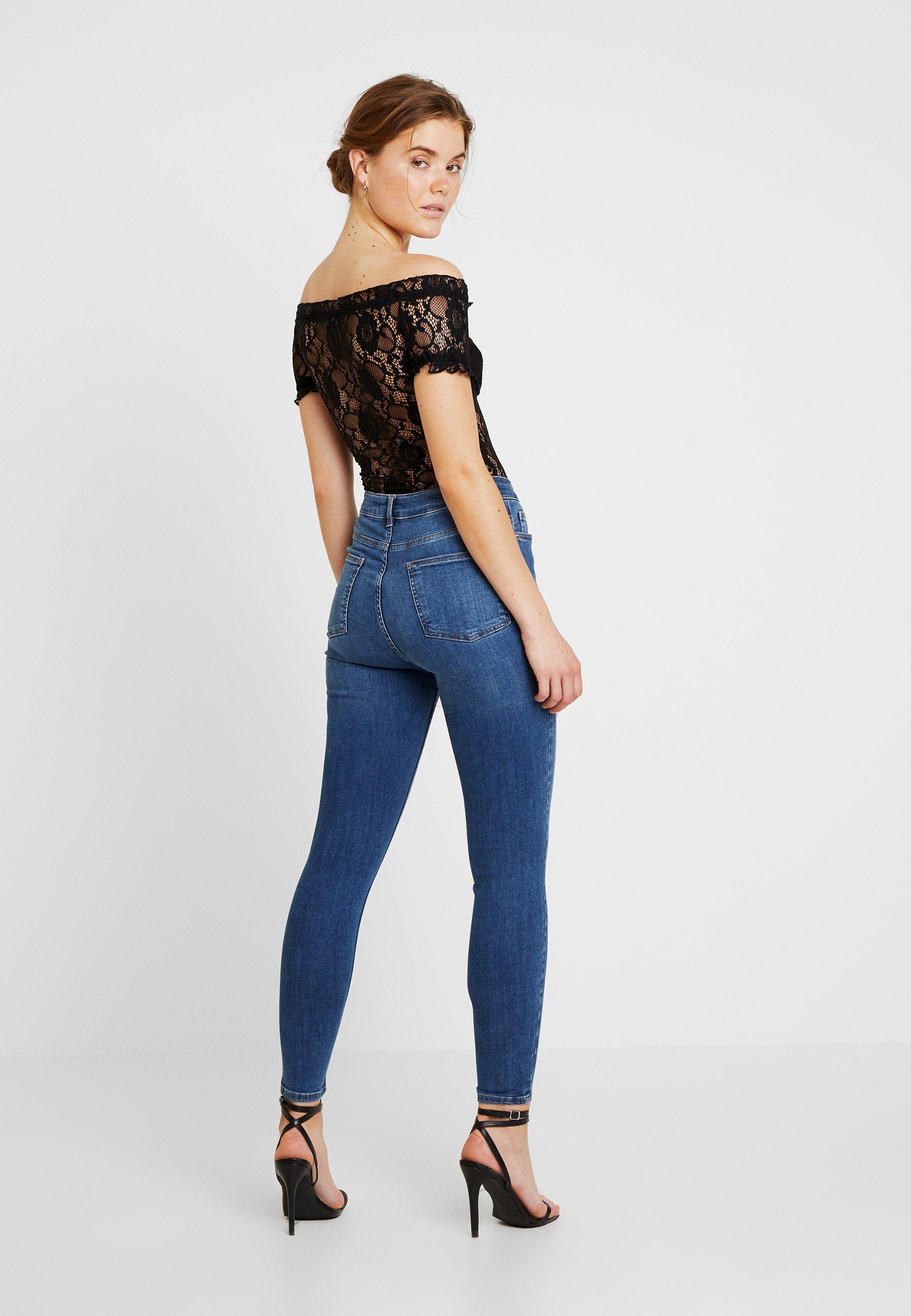 Look Black Milkmaid Imprimé Go New BodyT shirt Pn0kOw8
