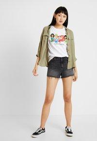 New Look - PRINCESS GIRL POWER TEE - T-Shirt print - white - 1