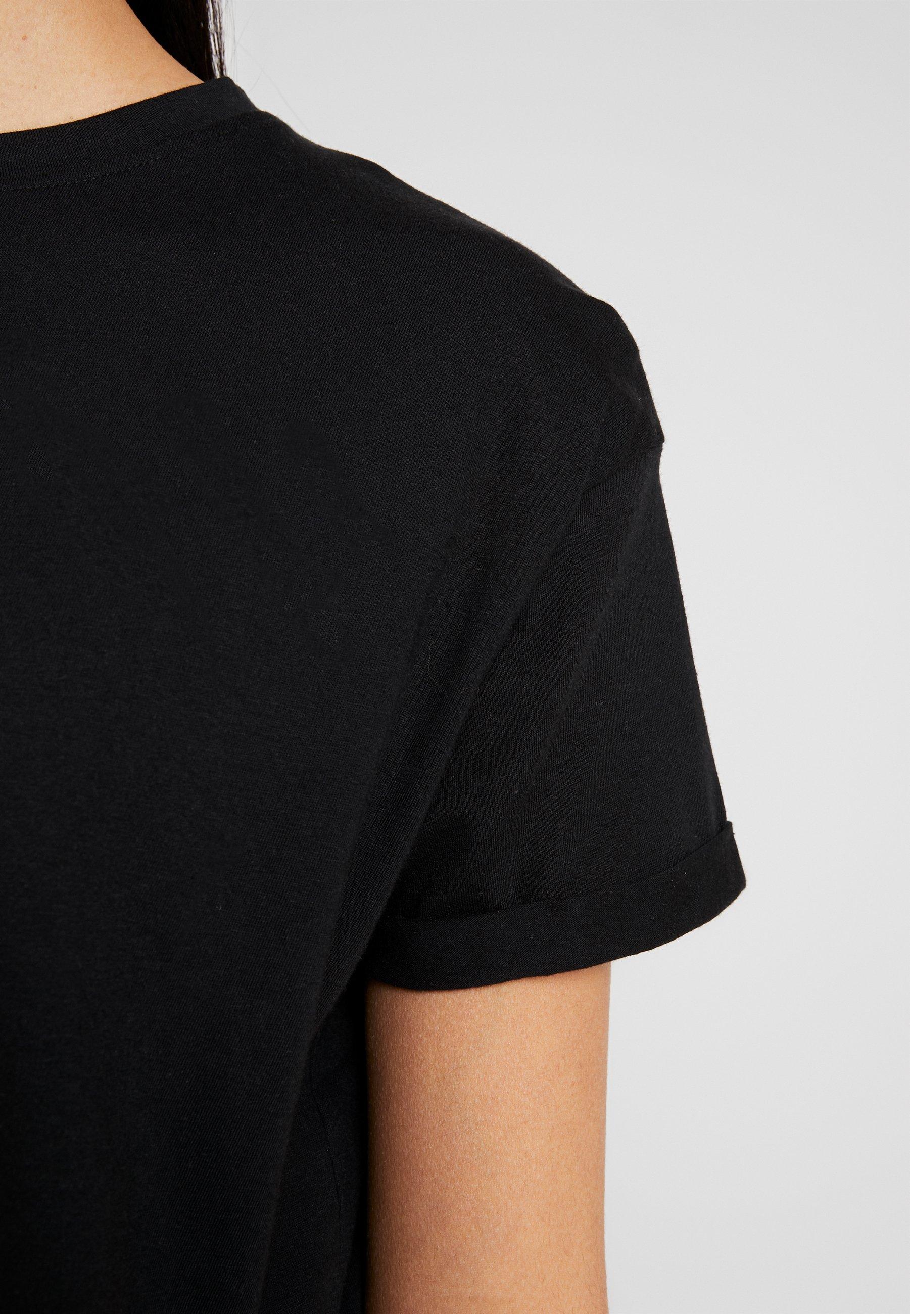 New Look ORGANIC BOXY TEE 3 PACK - T-shirt basique black/white/grey