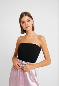 New Look - SOFT BANDEAU BODY 2 PACK - Top - black - 0