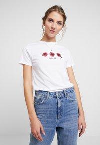 New Look - ROSE TEE - Triko spotiskem - white - 0