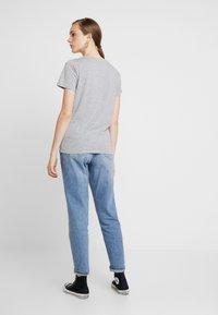 New Look - BASIC TEE - Print T-shirt - grey marl - 2