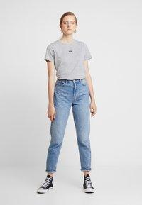 New Look - BASIC TEE - Print T-shirt - grey marl - 1