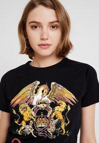 New Look - QUEEN ROCK - T-Shirt print - black - 4