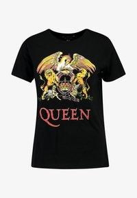 New Look - QUEEN ROCK - T-Shirt print - black - 3