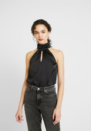 SELMA BUBBLE CHOKER BODY - Topper - black