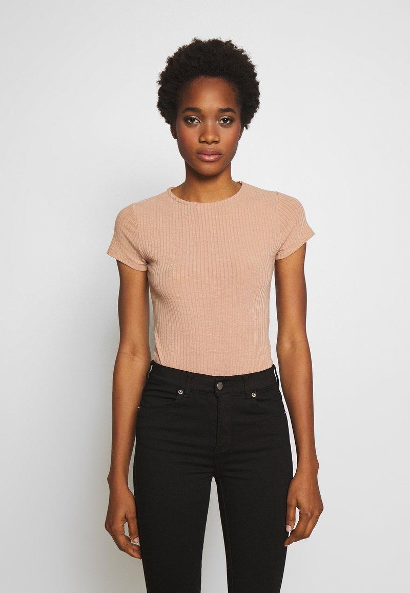New Look - CREW NECK BODY 2 PACK - Top - black