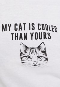 New Look - CAT TEE - T-shirt print - white - 4