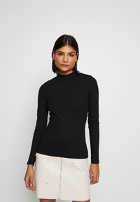 New Look - TURTLE NECK 2 PACK - Topper langermet - black/white - 2