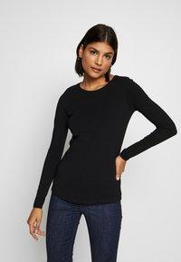 New Look - 2 PACK  - Bluzka z długim rękawem - white/black - 2