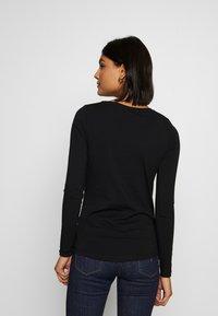 New Look - 2 PACK  - Bluzka z długim rękawem - white/black - 3