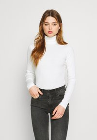 New Look - ROLL NECK - Jumper - off white - 0