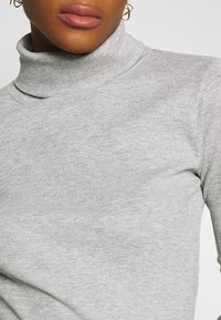 New Look - ROLL NECK - Jumper - grey niu - 4