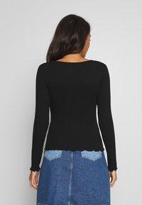 New Look - BABYLOCK LS TEE 2PACK - Top sdlouhým rukávem - white/black - 3