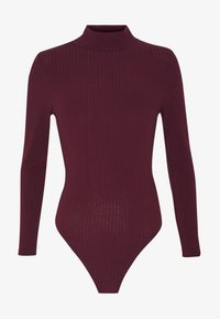 New Look - Long sleeved top - dark burgundy - 3