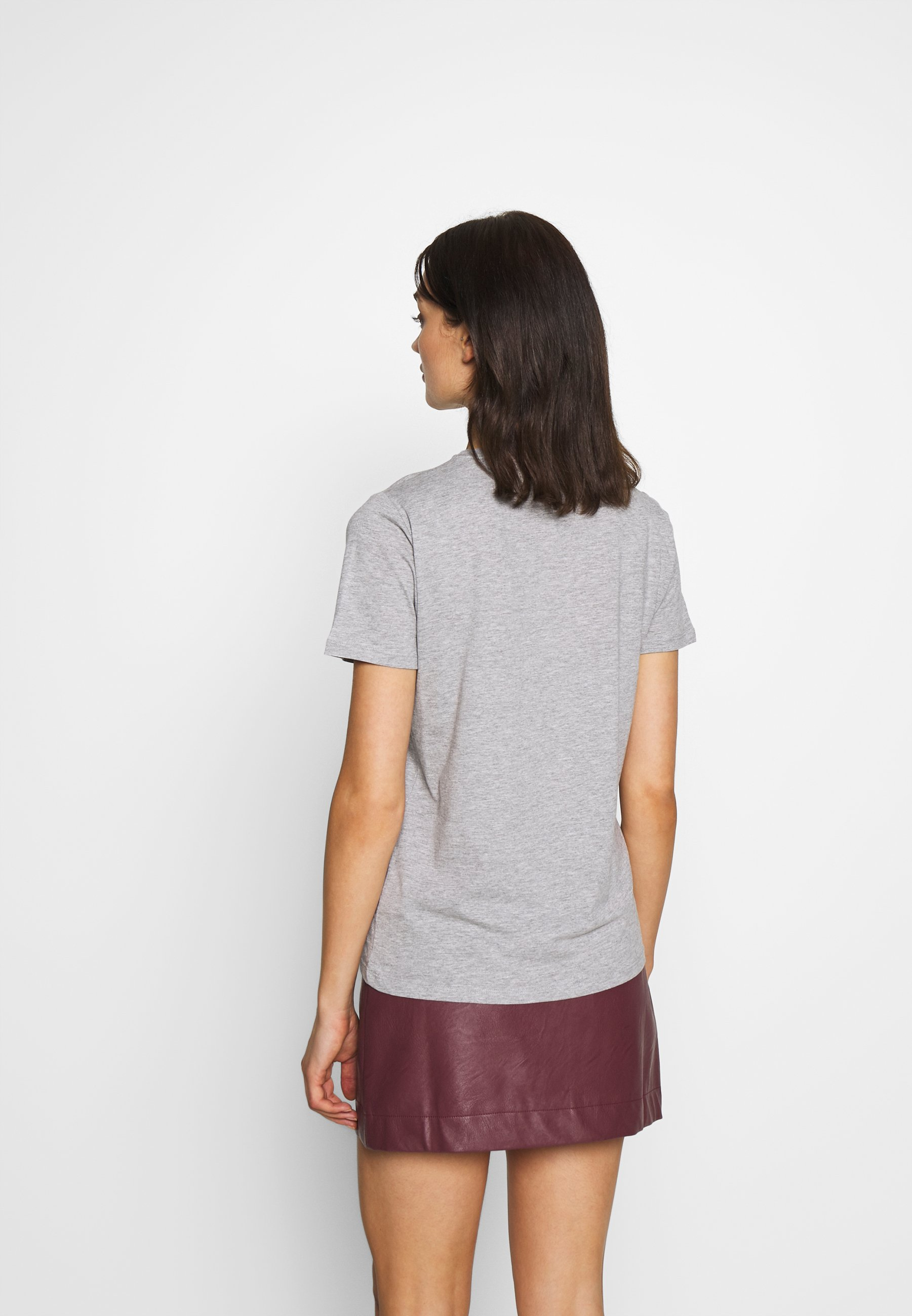 New Look ITS OK NOT TO BE OK - T-shirts med print - grey