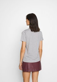 New Look - ITS OK NOT TO BE OK - Print T-shirt - grey - 2