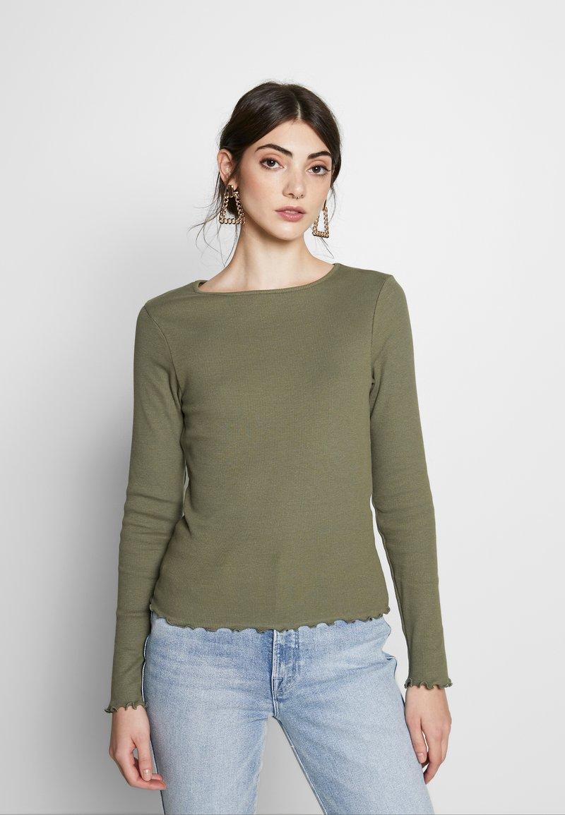 New Look - BABYLOCK - Long sleeved top - dark khaki