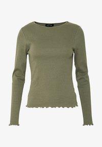New Look - BABYLOCK - Long sleeved top - dark khaki - 3