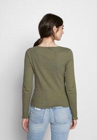 New Look - BABYLOCK - Long sleeved top - dark khaki - 2