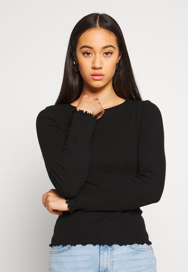 BABYLOCK - Long sleeved top - black