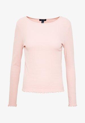 BABYLOCK - Topper langermet - light pink